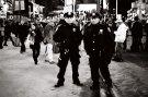 Tri X / 24x36 / Cops. Timesquare.