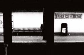 Tri X / 24x36 / Lorimer St. Subway.