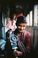 Ektar 100 / 24x36 / Bolex and brother - Train between Ahmedabad and Udaipur